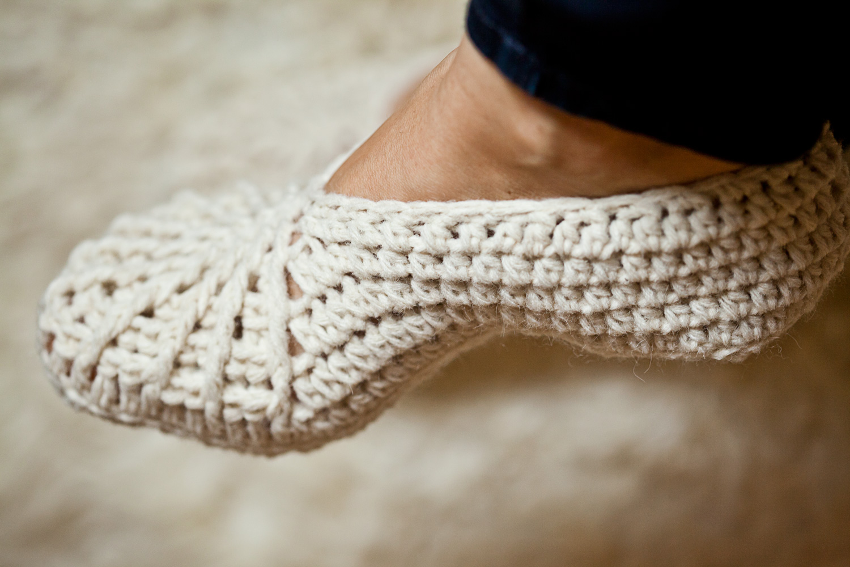 Spider Slippers - crochet pattern update! - Mon Petit Violon