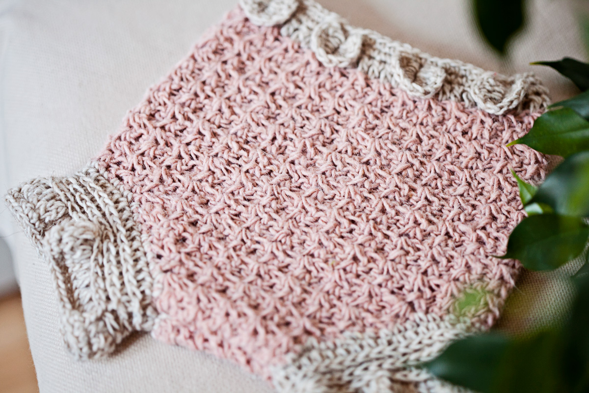 New crochet pattern - Petal Diaper Cover!