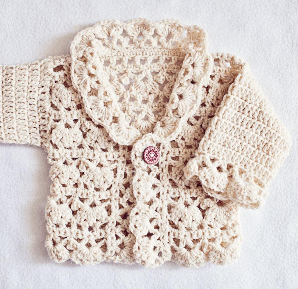 New Crochet Pattern Youll Love Harriet Lace Cardigan