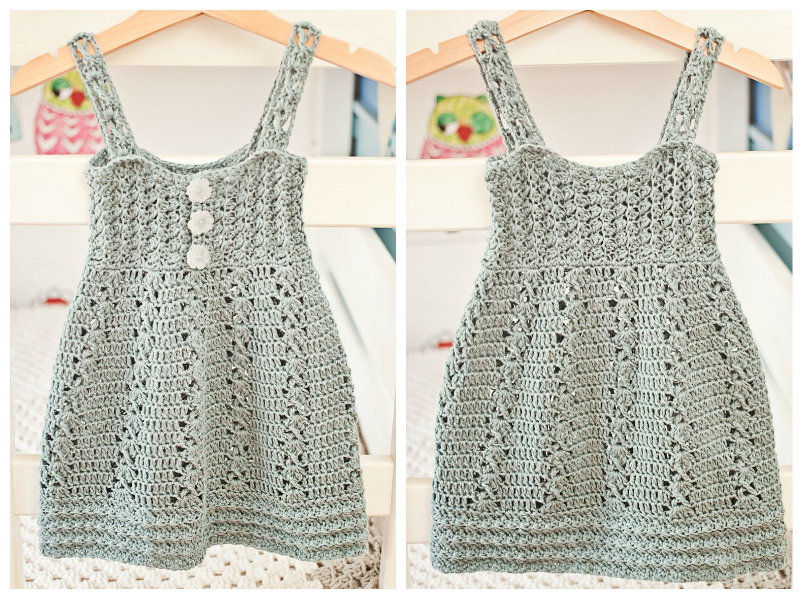 3d0200739 It is time to make new beautiful crochet Sea Breeze Dress! - Mon ...