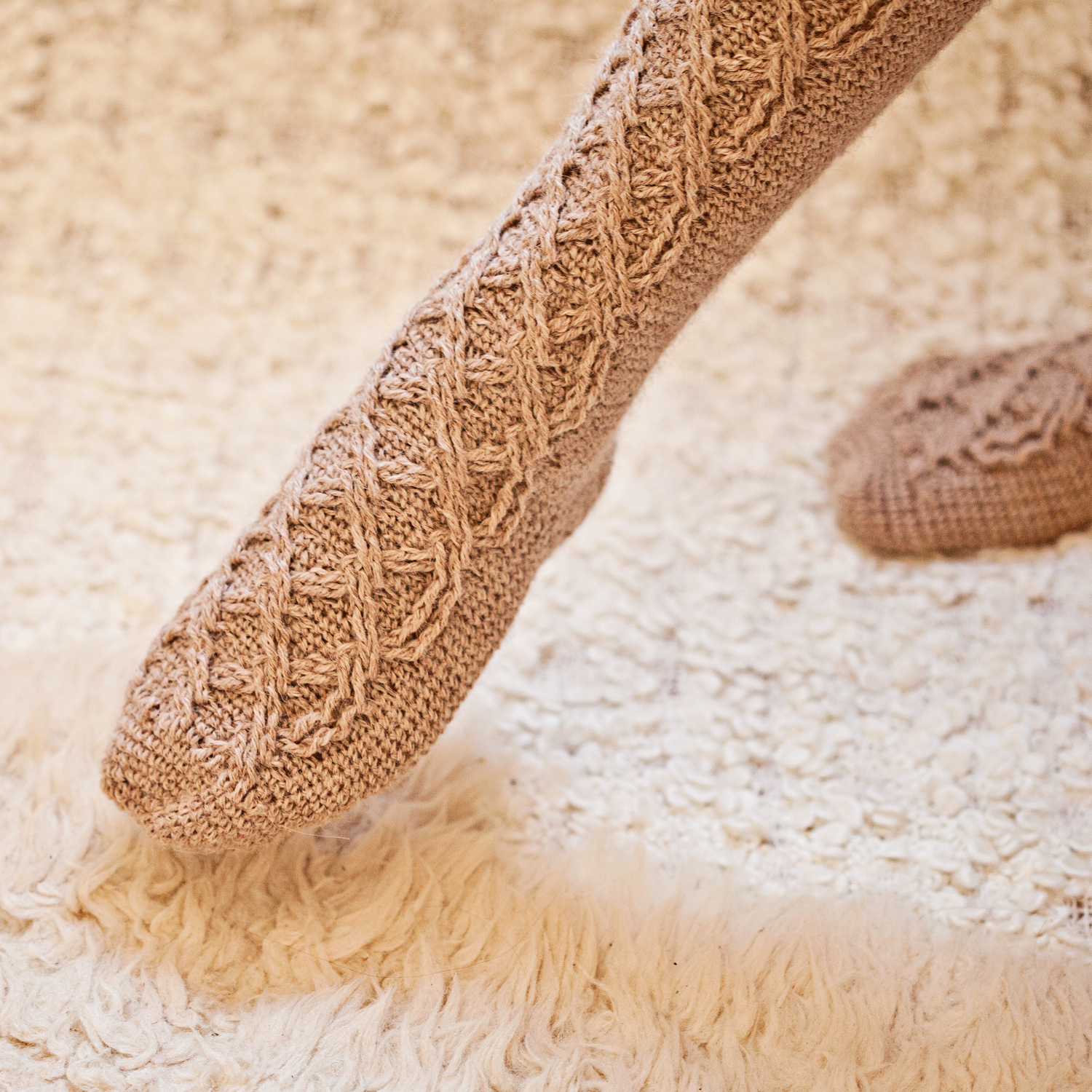 Learn How To Make Perfect Crochet Cable Socks Mon Petit Violon