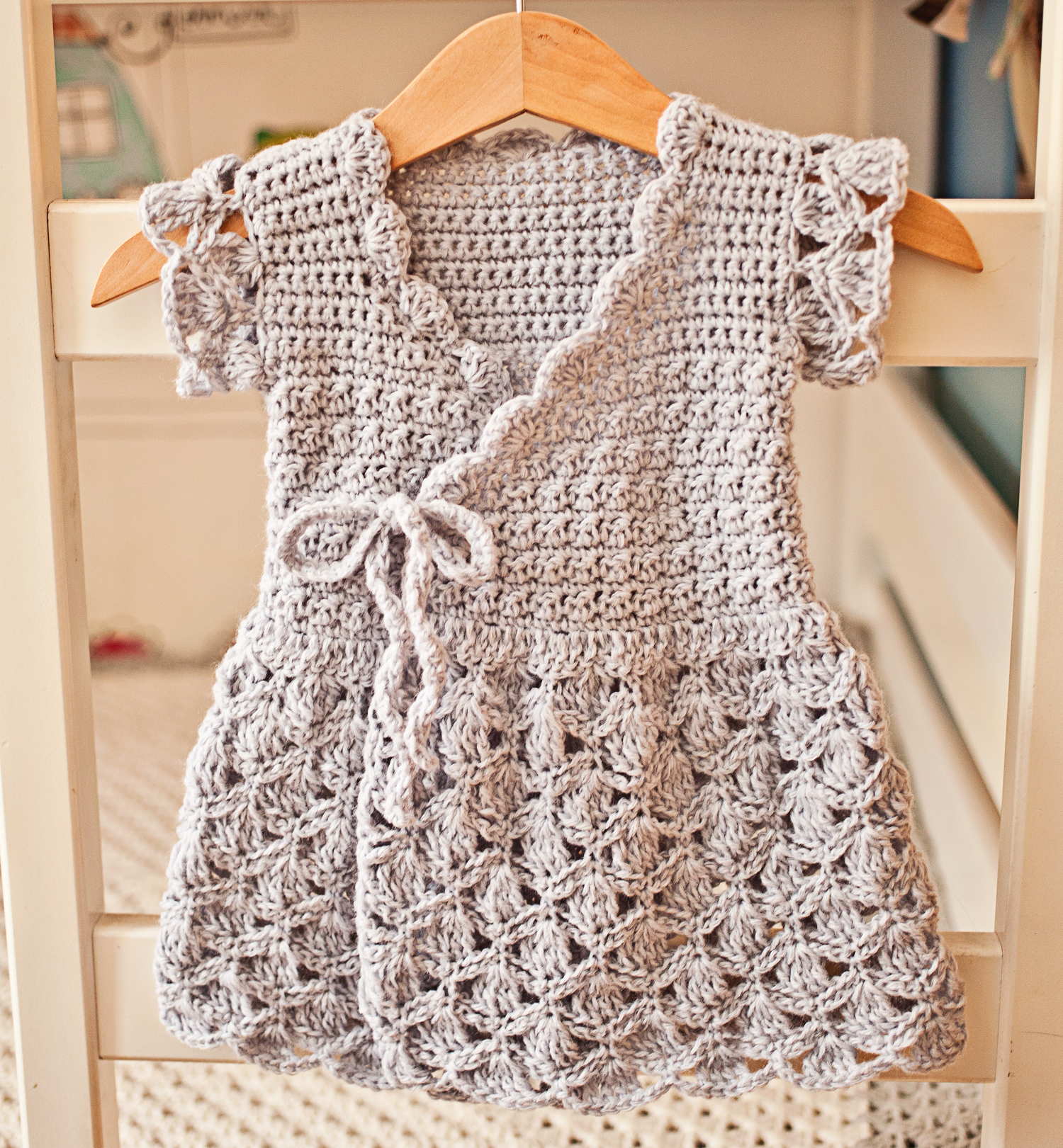 Now You Can Make Crochet Wrap Dress New Pattern Available Mon