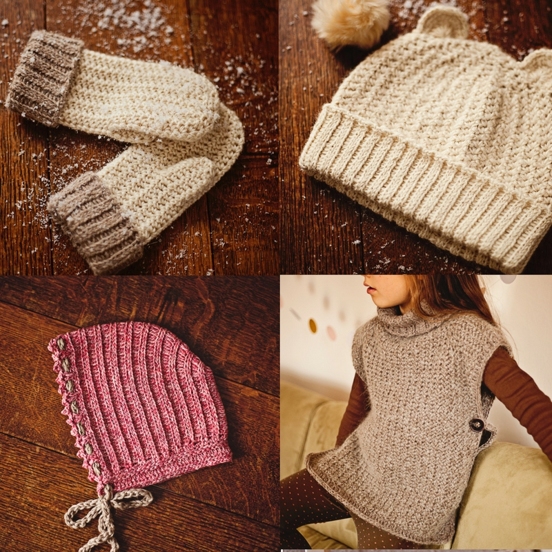 knit-look collection - crochet patterns www.monpetitviolon.etsy.com