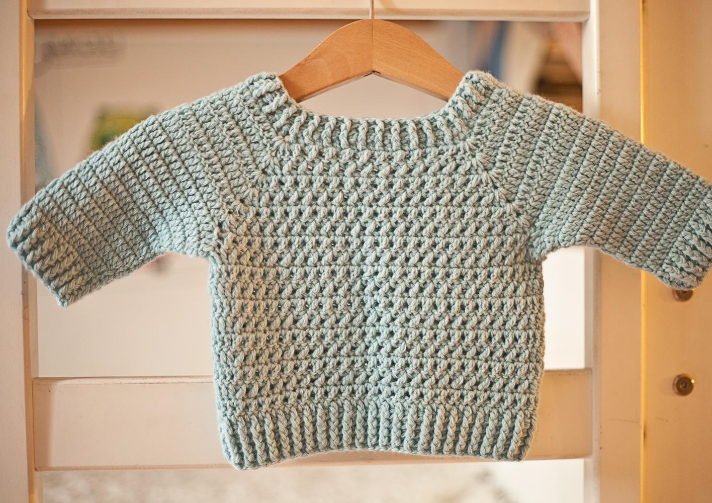 Crochet for boys? Check out our new sweater pattern! - Mon Petit Violon